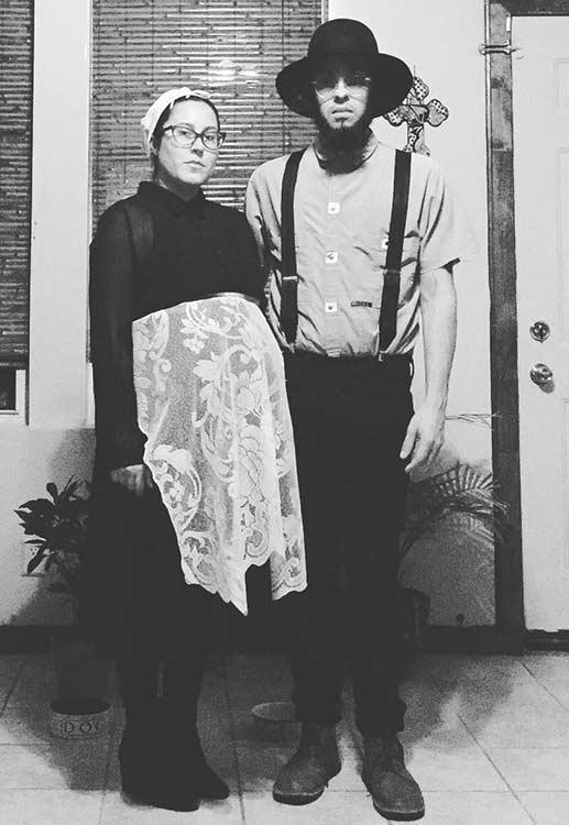 diy amish couple halloween costume idea