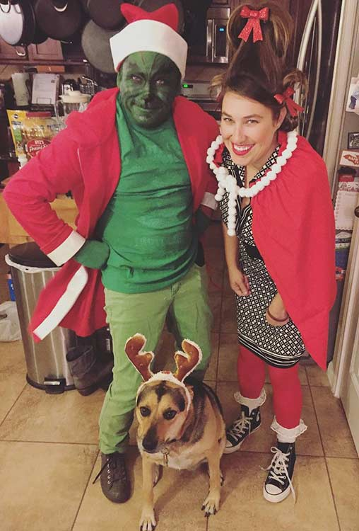 Grinch Couple Halloween Costume Idea  sc 1 st  StayGlam : couple and dog costumes  - Germanpascual.Com