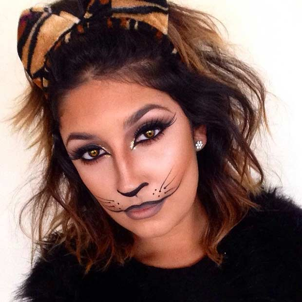 23 pretty and easy halloween makeup looks page 2 of 2
