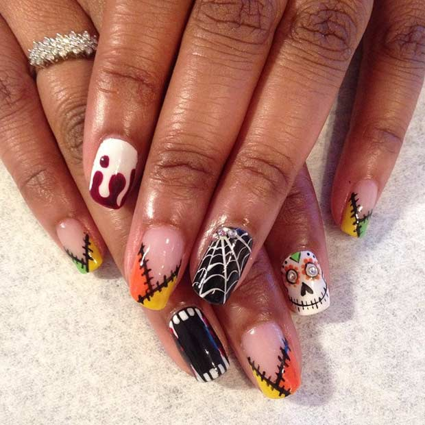 25 Creative Halloween Nail Art Ideas | Page 3 of 3 | StayGlam