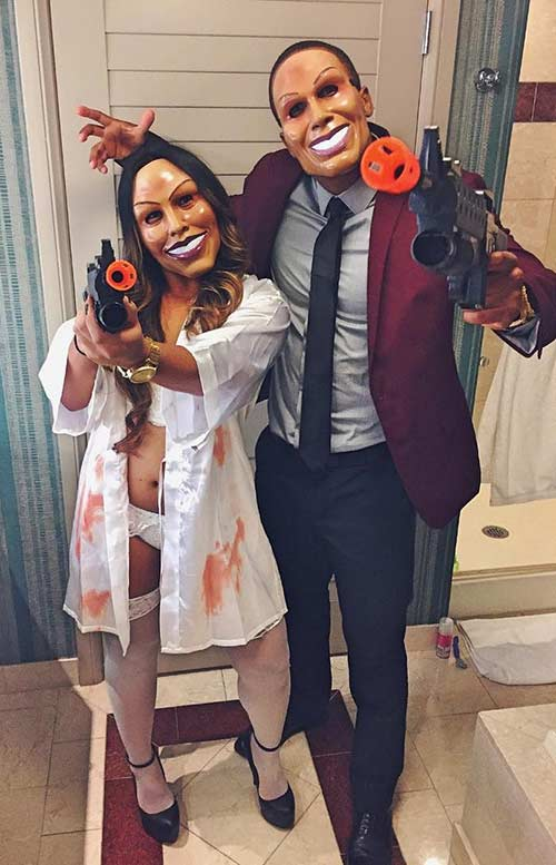 The Purge Couples Halloween Costume