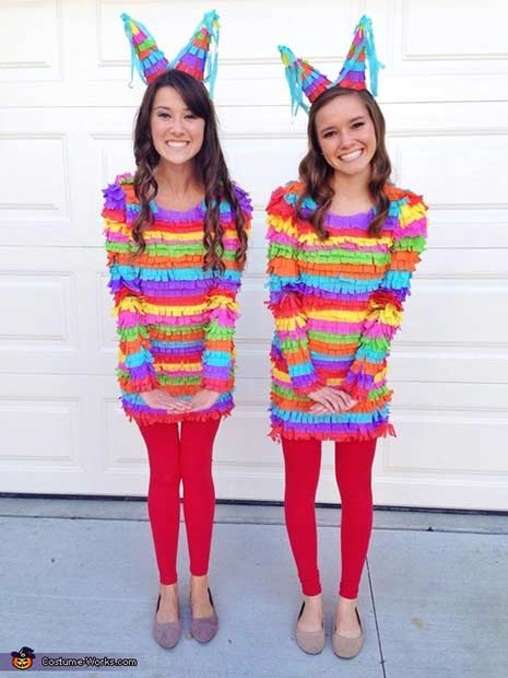 Pinata BFF Halloween Costume Idea