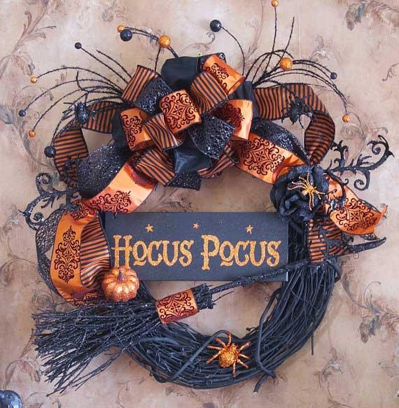 Hocus Pocus Halloween Wreath