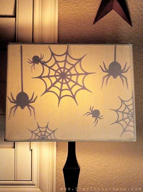 Halloween Lampshade DIY Decoration