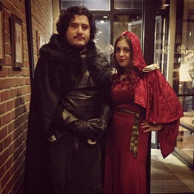 Game of Thrones Couple Halloween Costume Idea