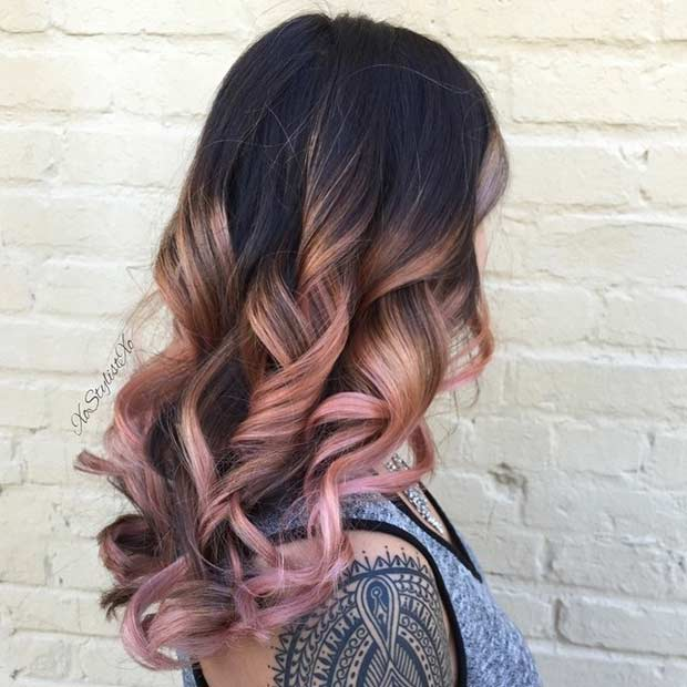 23 Trendy Rose Gold Hair Color Ideas Stayglam