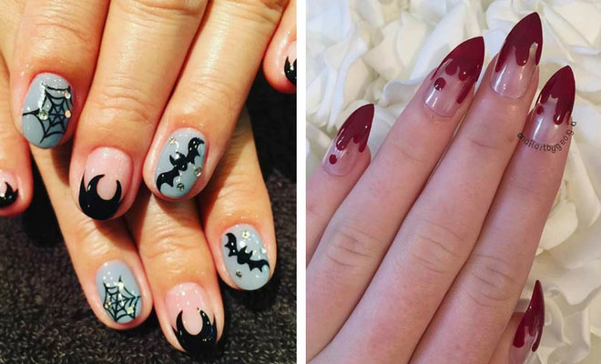 Instagram - 25 Creative Halloween Nail Art Ideas StayGlam