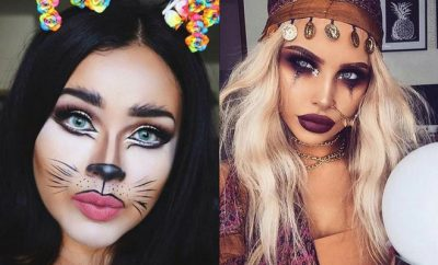 Pretty and Easy Halloween Makeup Looks