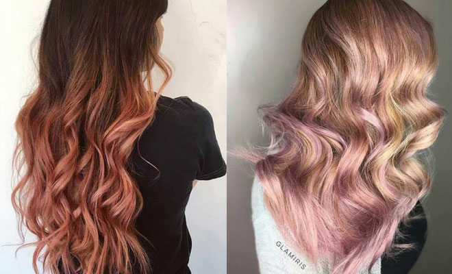 Incandescent Rose Gold Highlights