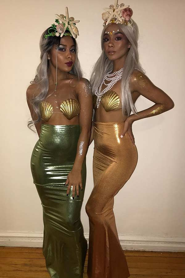 Sexy Mermaid Costumes for BFFs