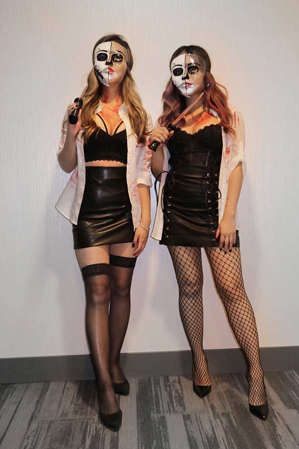 Sexy Purge Costumes for BFFs