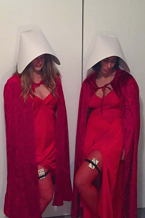 The Handmaids Tale BFF Costume Idea