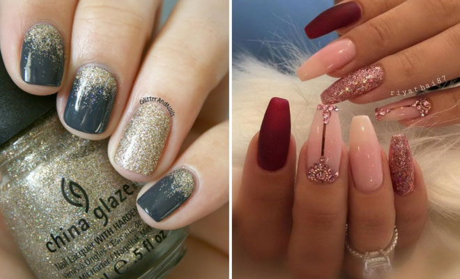 31 snazzy new years eve nail designs stayglam