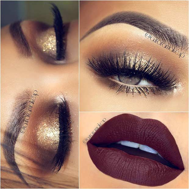 23 Christmas Makeup Ideas To Copy This Season Page 2 Of