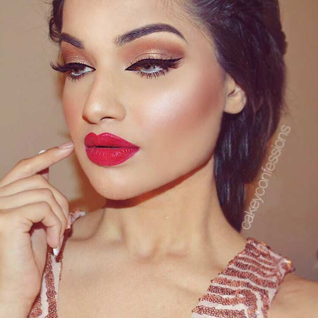 25 Glamorous Makeup Ideas For New Years Eve Stayglam Page 2