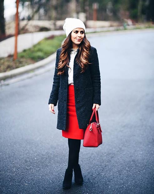 Simple Christmas Outfit Idea