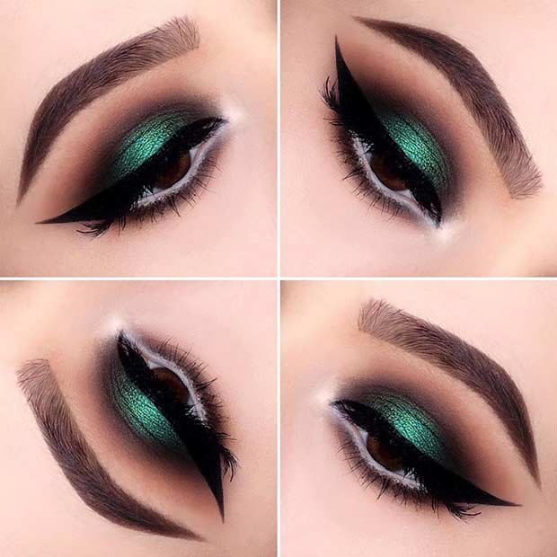23 Christmas Makeup Ideas To Copy This Season Crazyforus
