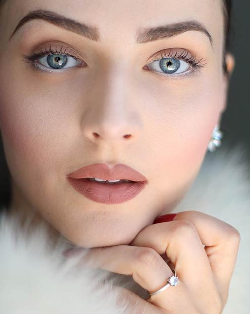 Natural Looking Makeup Look