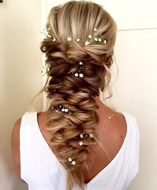 Wedding Braids For Long Hair: 23 Romantic Wedding Hairstyles For Long Hair