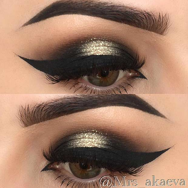 25 Glamorous Makeup Ideas For New Years Eve Stayglam