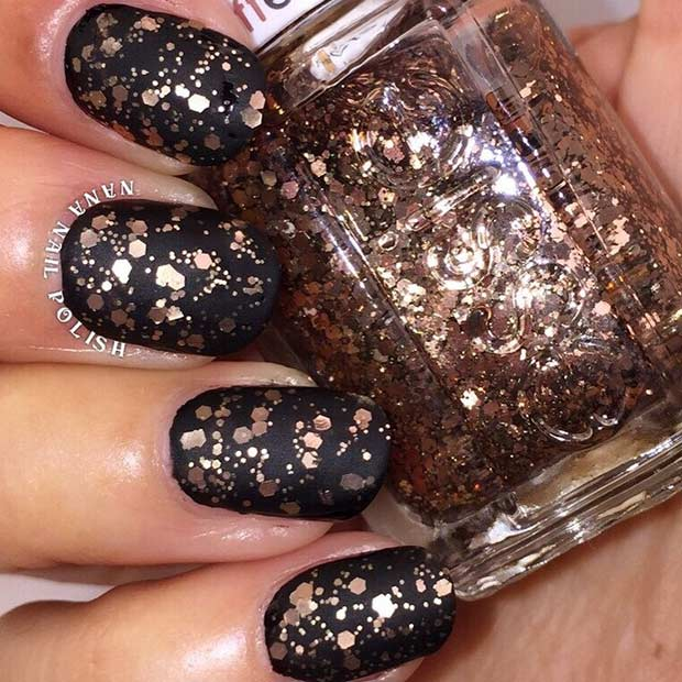 31 Snazzy New Year\'s Eve Nail Designs | Page 2 of 3 | StayGlam