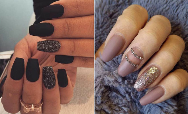 - 25 Cool Matte Nail Designs To Copy In 2017 StayGlam