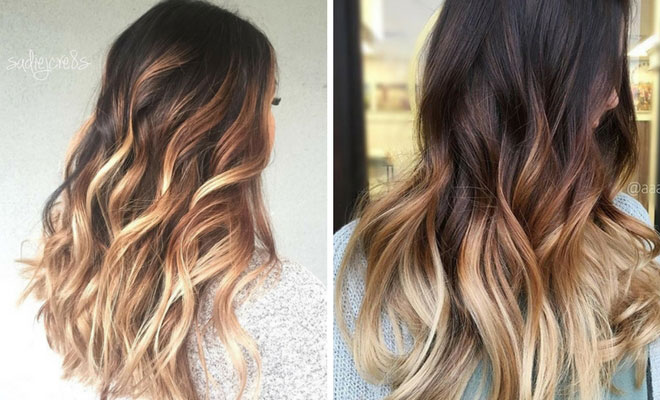 27 stunning blonde highlights for dark hair stayglam pmusecretfo Choice Image