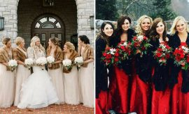 Bridesmaid Style Ideas for a Winter Wedding