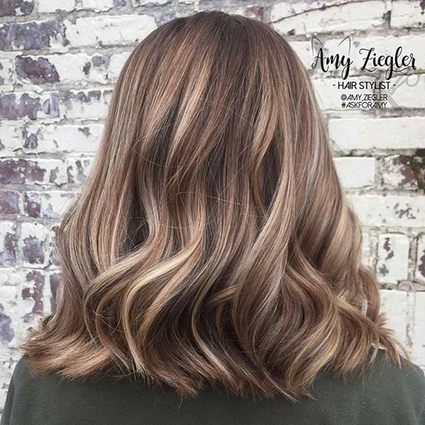 27 Pretty Lob Haircut Ideas You Should Copy Crazyforus