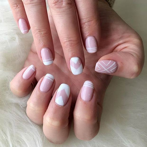 Pink For Prom Nail Ideas: 23 Elegant Nail Art Designs For Prom 2018