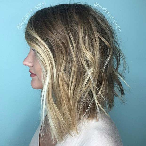 27 Pretty Lob Haircut Ideas You Should Copy In 2017 Stayglam