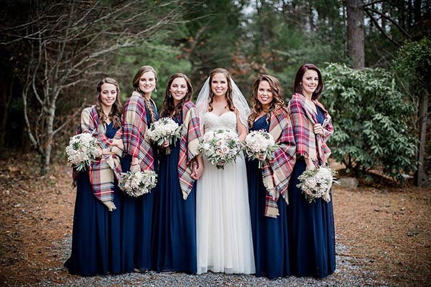 cfddcfe788 17 Bridesmaid Style Ideas for a Winter Wedding | StayGlam