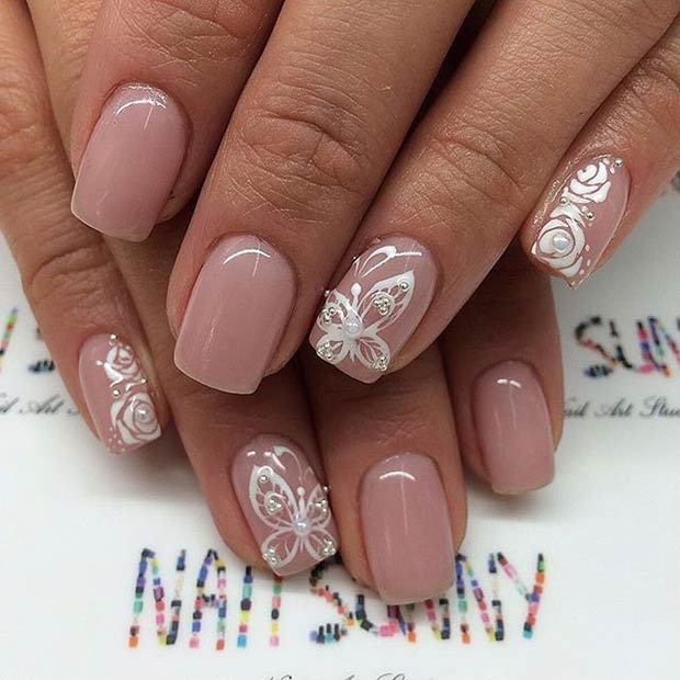 23 Elegant Nail Art Designs For Prom 2018 Page 2 Of 2 Stayglam