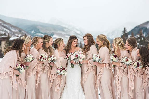 Can You Wear Cream To A Wedding: 17 Bridesmaid Style Ideas For A Winter Wedding