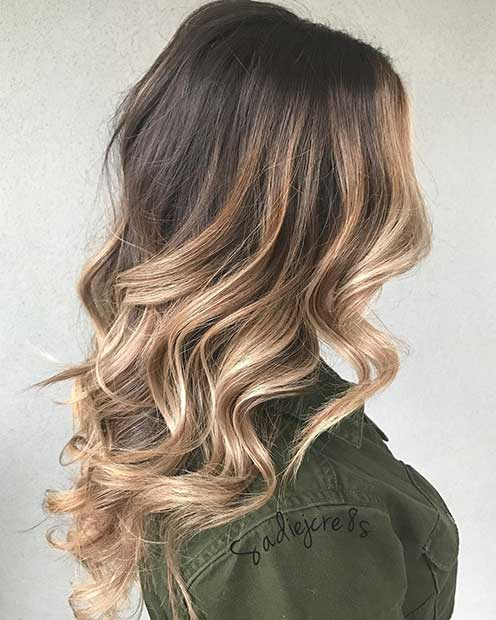 Honey Blonde Highlights for Brown Hair