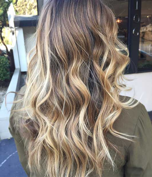 Blonde Highlights for Brunettes
