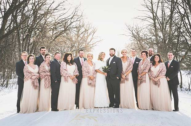 13fb20c8a9 17 Bridesmaid Style Ideas for a Winter Wedding | Page 2 of 2 | StayGlam