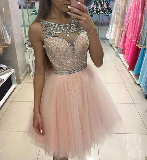 Light Pink Prom Dress Tumblr