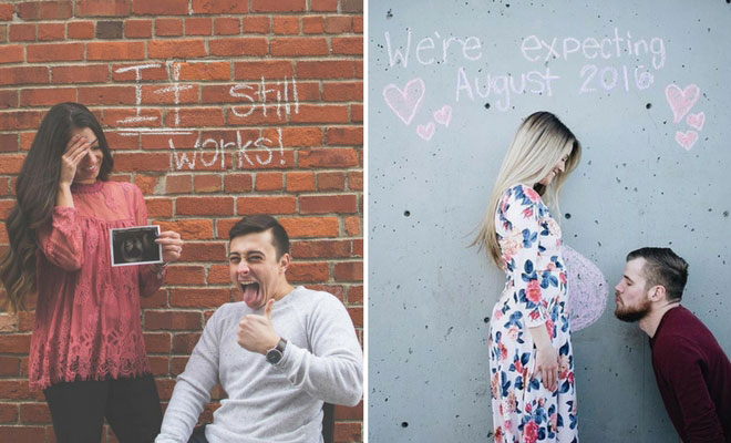21 Cute and Creative Pregnancy Announcement Ideas – Cute Baby Announcement