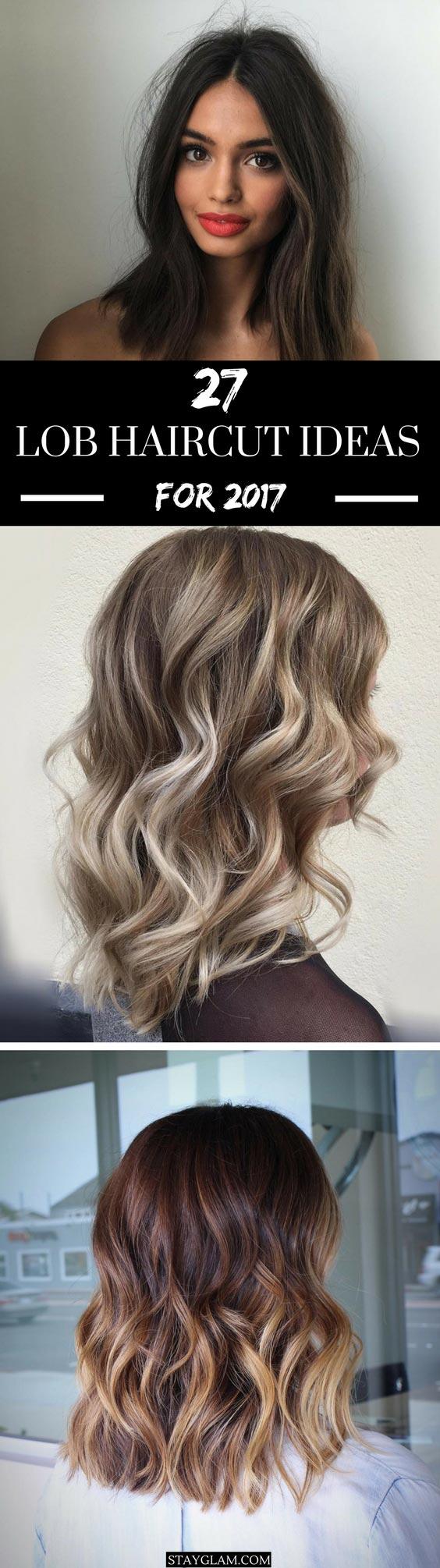 27 Pretty Lob Haircut Ideas You Should Copy In 2017 Stayglam