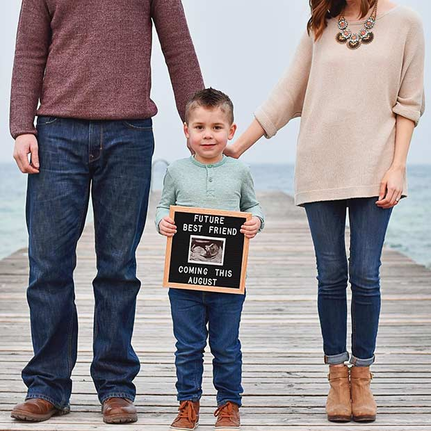 Future Best Friend Coming Sibling Pregnancy Announcement