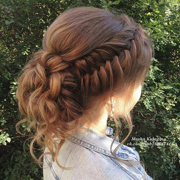 Fishtail Braid Wedding Hairstyles: 47 Gorgeous Prom Hairstyles For Long Hair