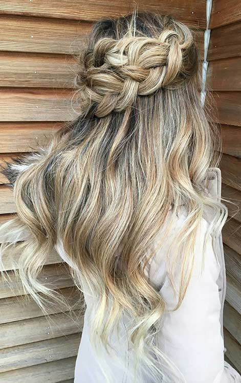 67 Gorgeous Prom Hairstyles for Long Hair | Page 3 of 7 ...