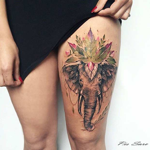 Tattoo Designs Thigh