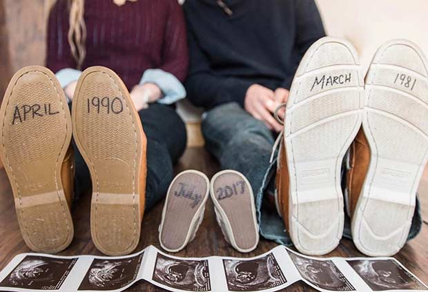21 Cute and Creative Pregnancy Announcement Ideas – Baby Announcment