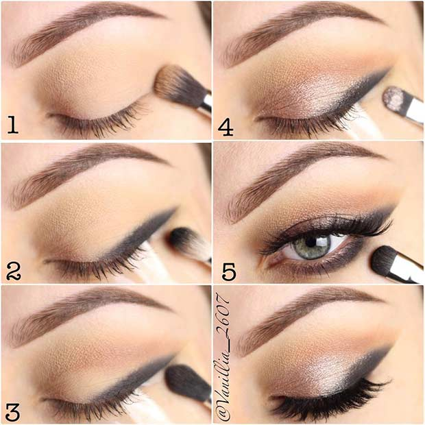 Smokey Eyeliner Makeup Tutorial for Beginners