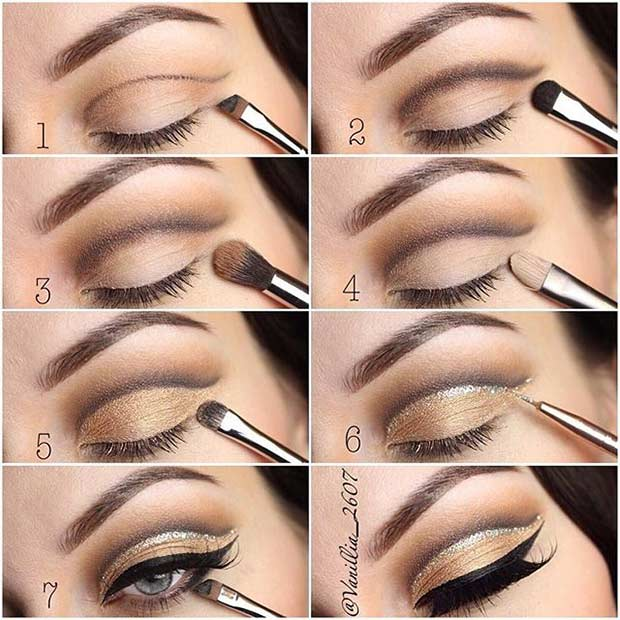 Step by Step Cut Crease Makeup Tutorial