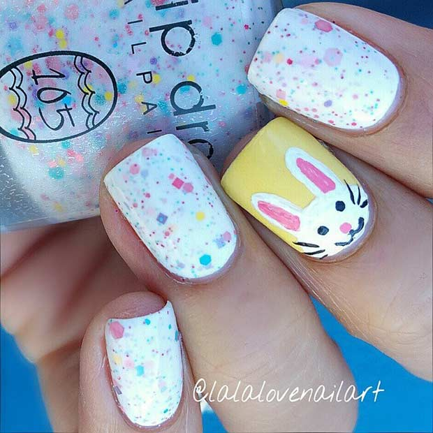 61 Easy and Simple Easter Nail Art Designs | StayGlam