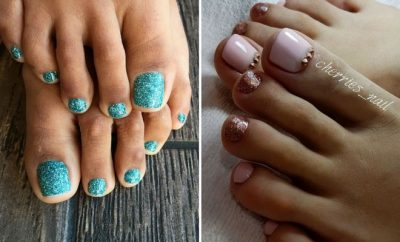 Eye Catching Pedicure Ideas for Spring