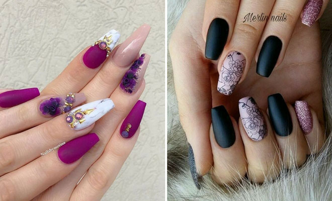 Instagram - 21 Gorgeous Floral Nail Designs For Spring StayGlam